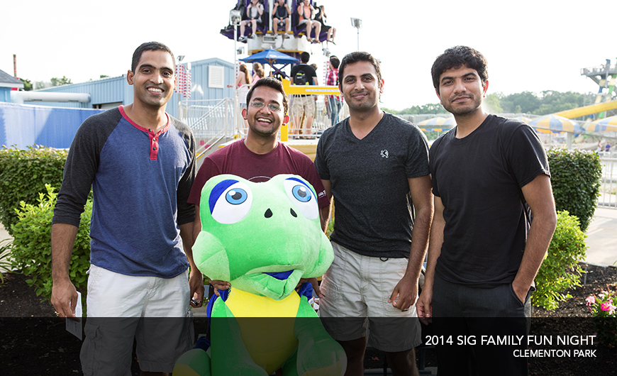2014 SIG family fun night