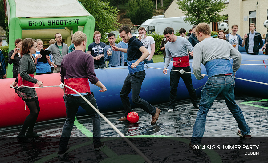2014 SIG summer party Dublin