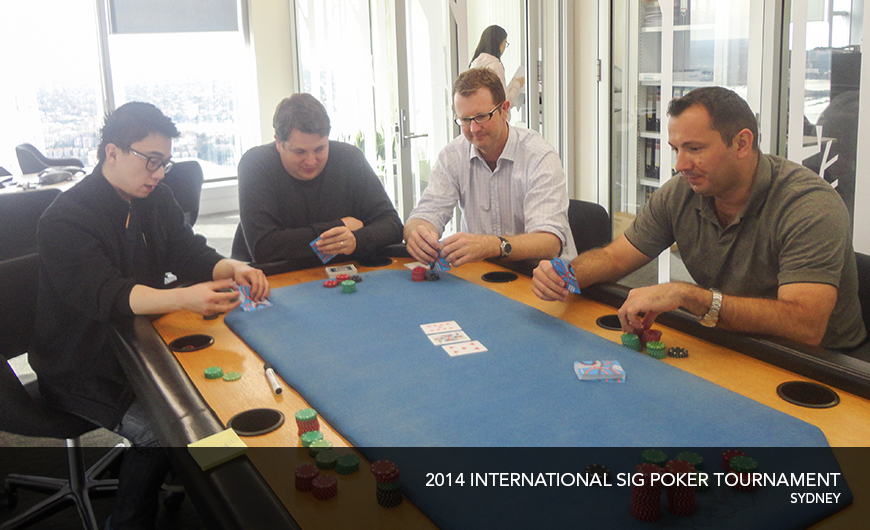 2014 International poker Tournament Shanghai