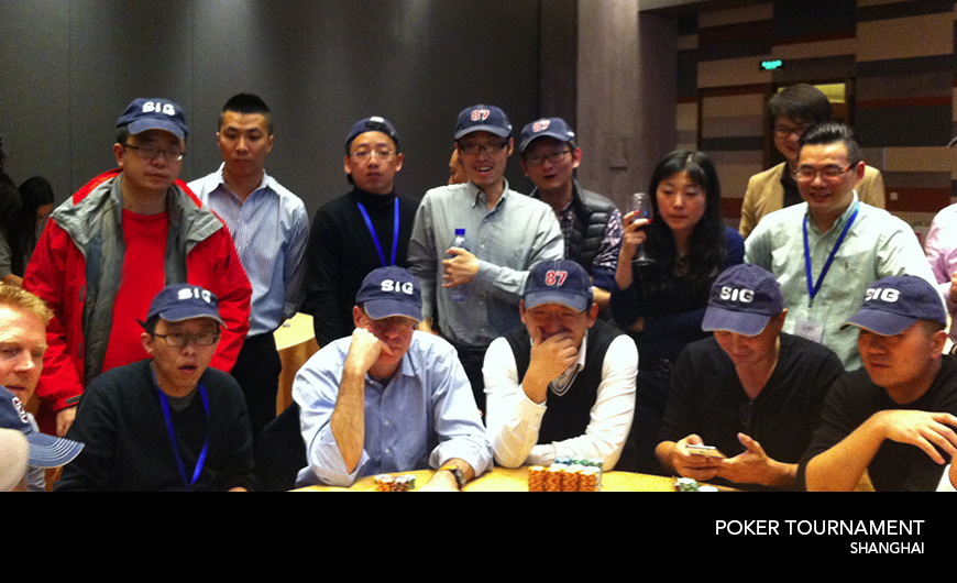 2014 International poker Tournament Sydney